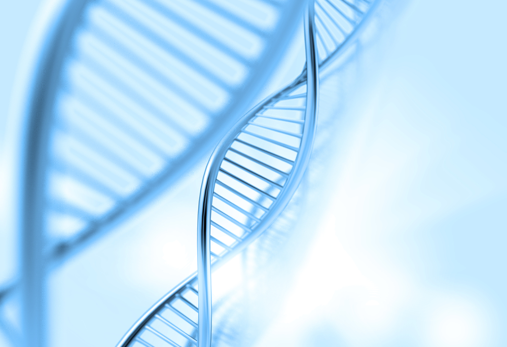 a dna in medical colour background-1